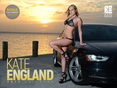 Kate England Calendar Cover PRINT